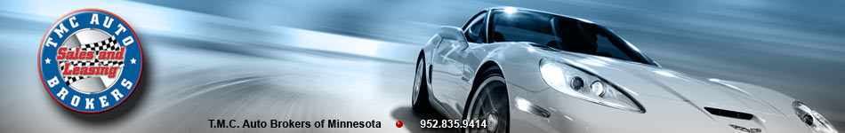 TMC Auto Brokers of Minnesota, all makes and models new or used sales and leasing